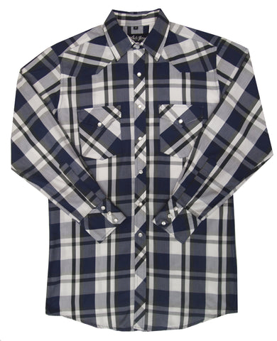 Mens Plaid<br> 134-1134