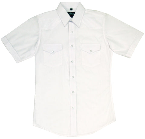 Mens Solid White<br> 411-1101X