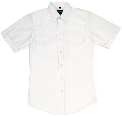 Mens Solid White<br> 411-1101