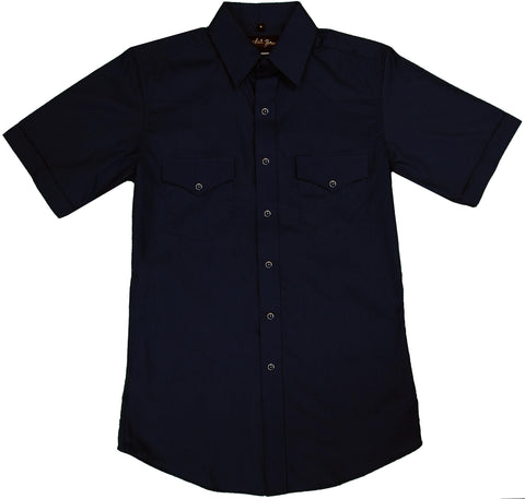 Mens Solid Black<br> 411-1102X