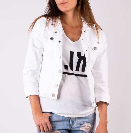 White Jeans Jacket