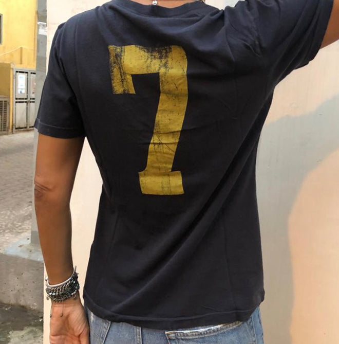 Made #7 Vintage V neck Tees