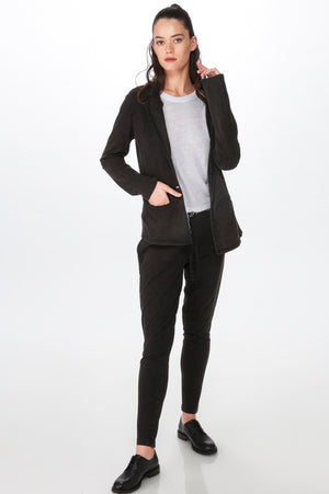 Load image into Gallery viewer, Black Knit Blazer