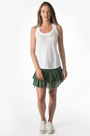 Load image into Gallery viewer, Green Short Rib Combo Skirt