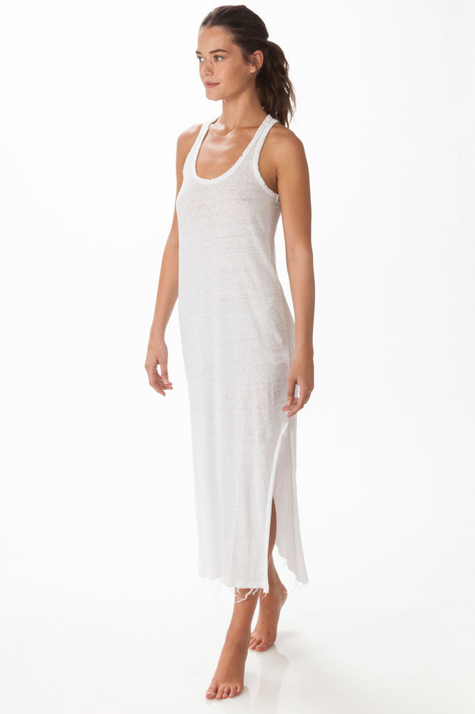 Load image into Gallery viewer, Maxi Linen Dress