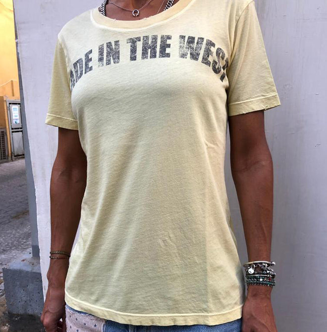 Made in the West Vintage Crew Neck Tees