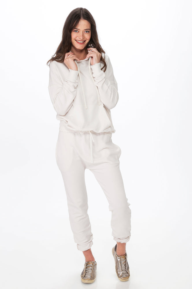 Load image into Gallery viewer, White Comfy Essential Hoodie