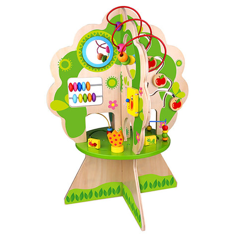 kids play tree