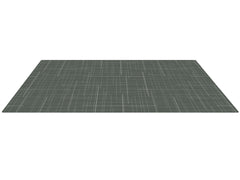 Black Linen Play Mat