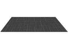 SMALL HALF-SIZE Charcoal Linen Play Mat