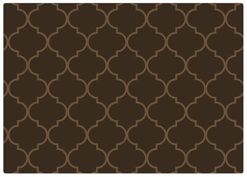 Espresso Brown Play Mat