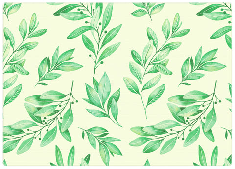 Green Foliage Play Mat