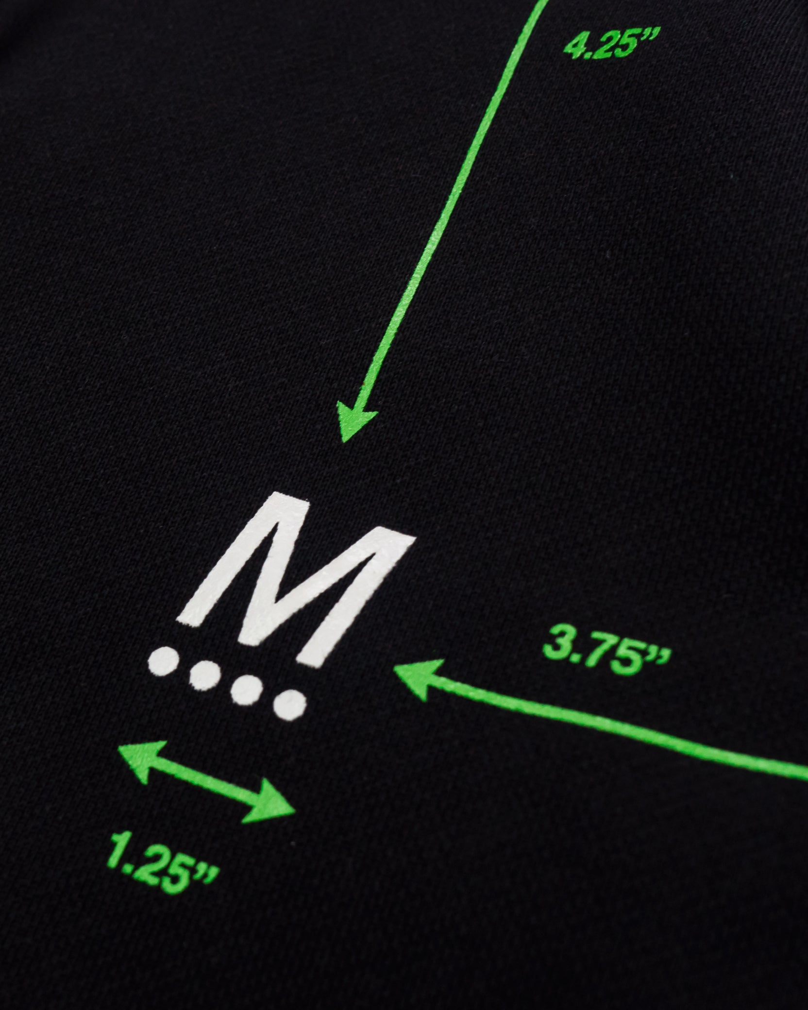 DIAGRAM HOODIE - BLACK / GREEN