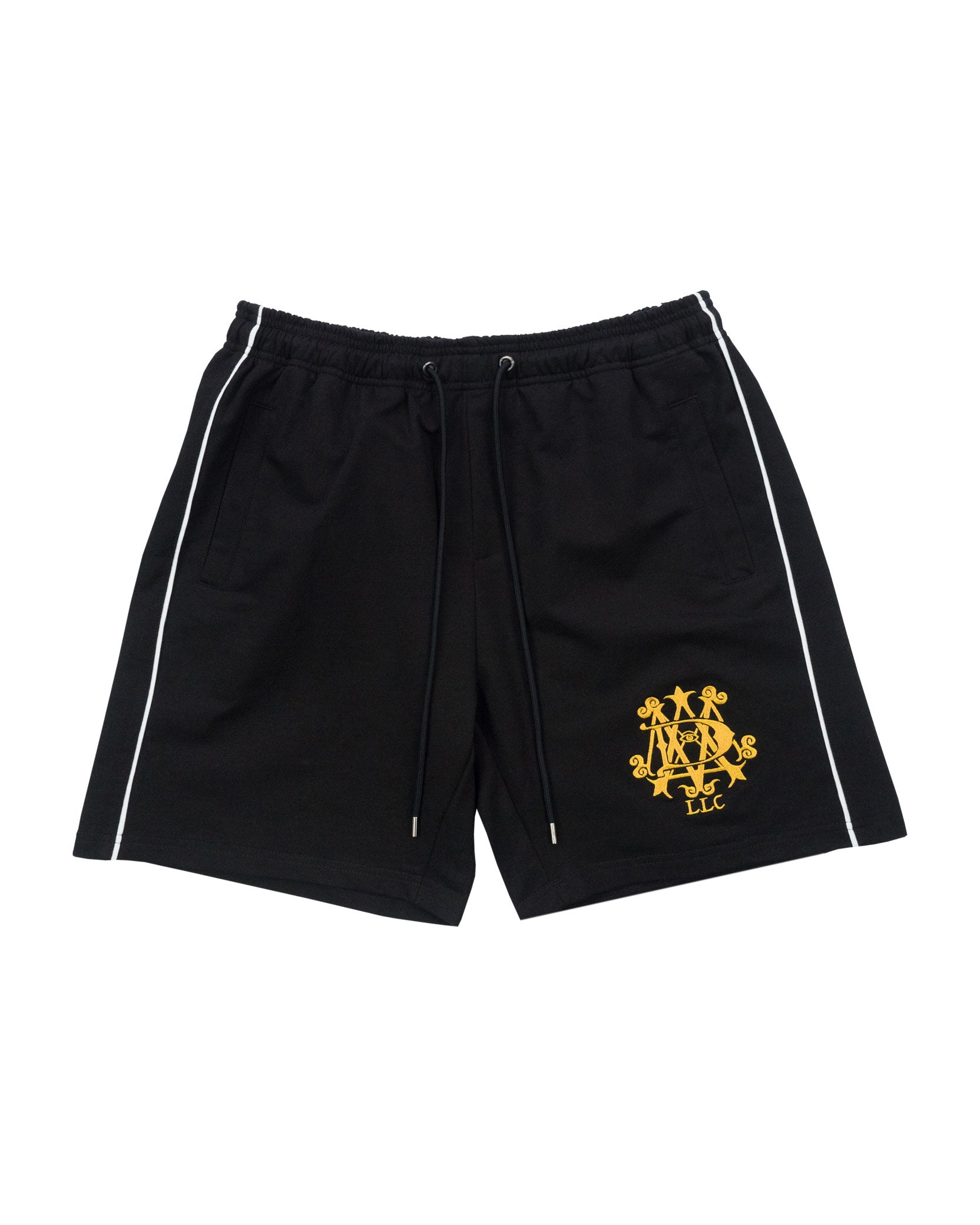 PIPING SHORTS - BLACK