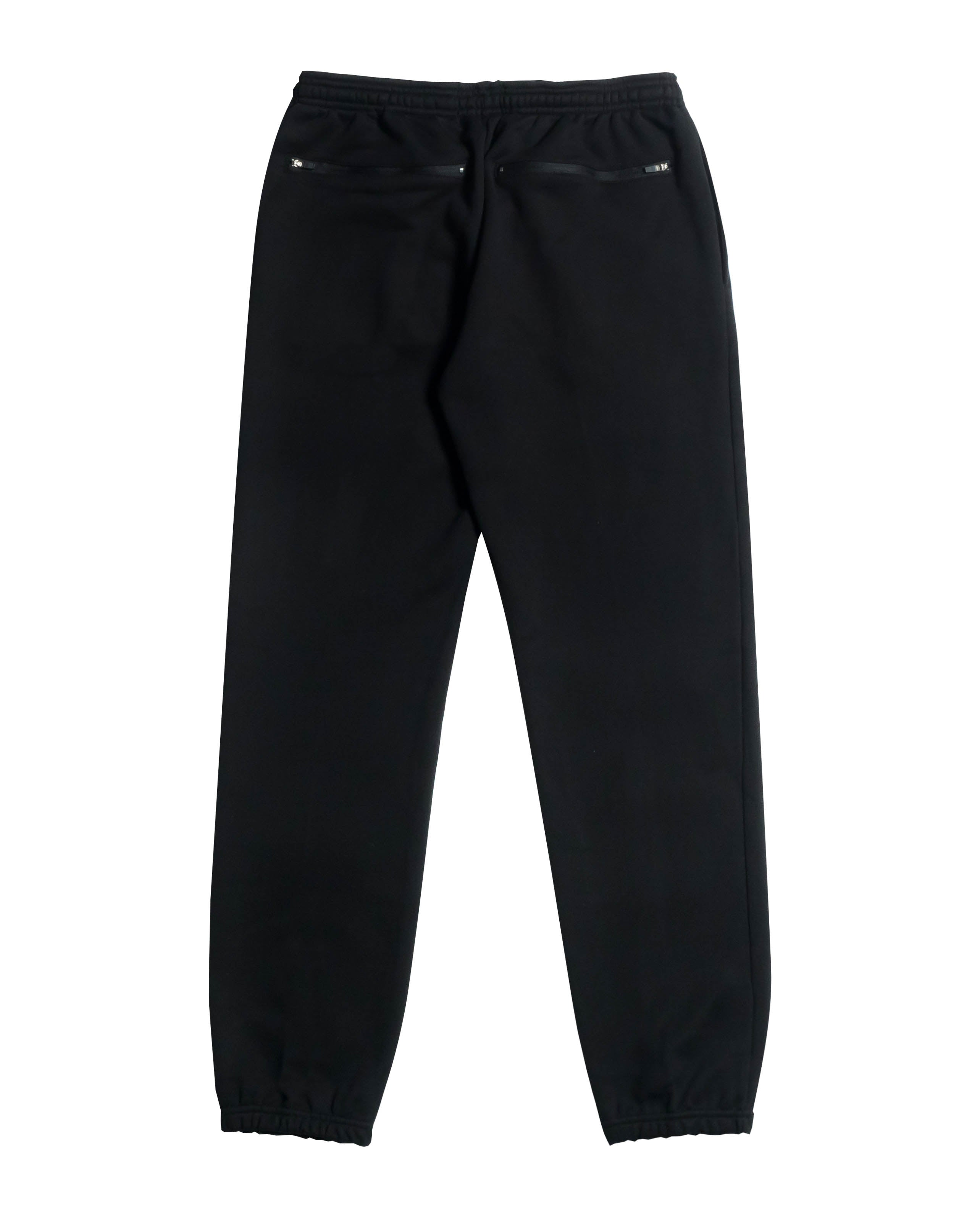 DIAGRAM SWEATPANT - BLACK / RED