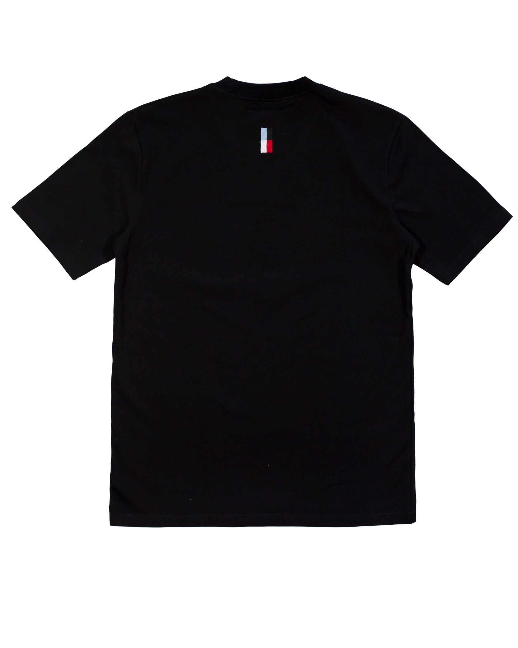 EMBROIDERY LOGO TEE - BLACK