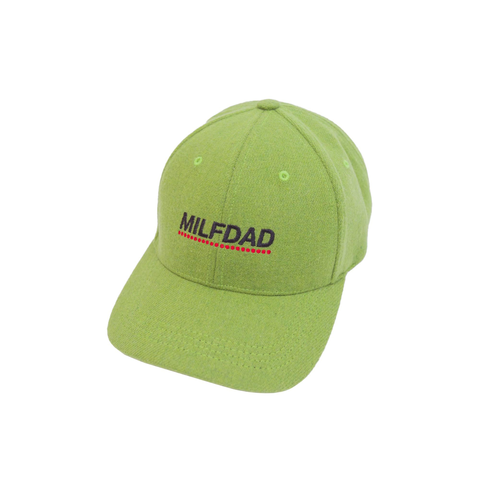 LOGO 6-PANEL CAP - GREEN-MILFDAD