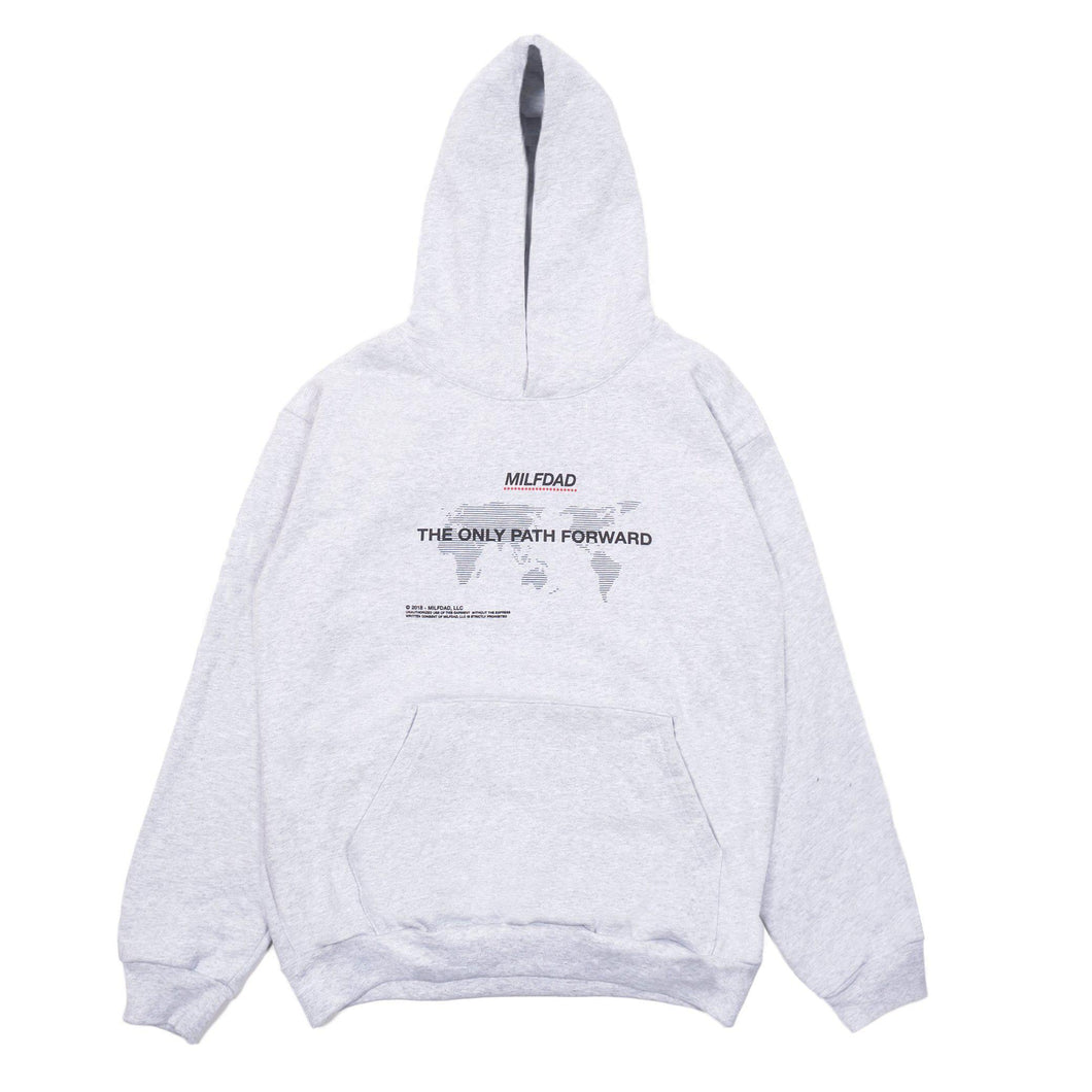 ONLY PATH HOODIE - HEATHER GRAY-MILFDAD