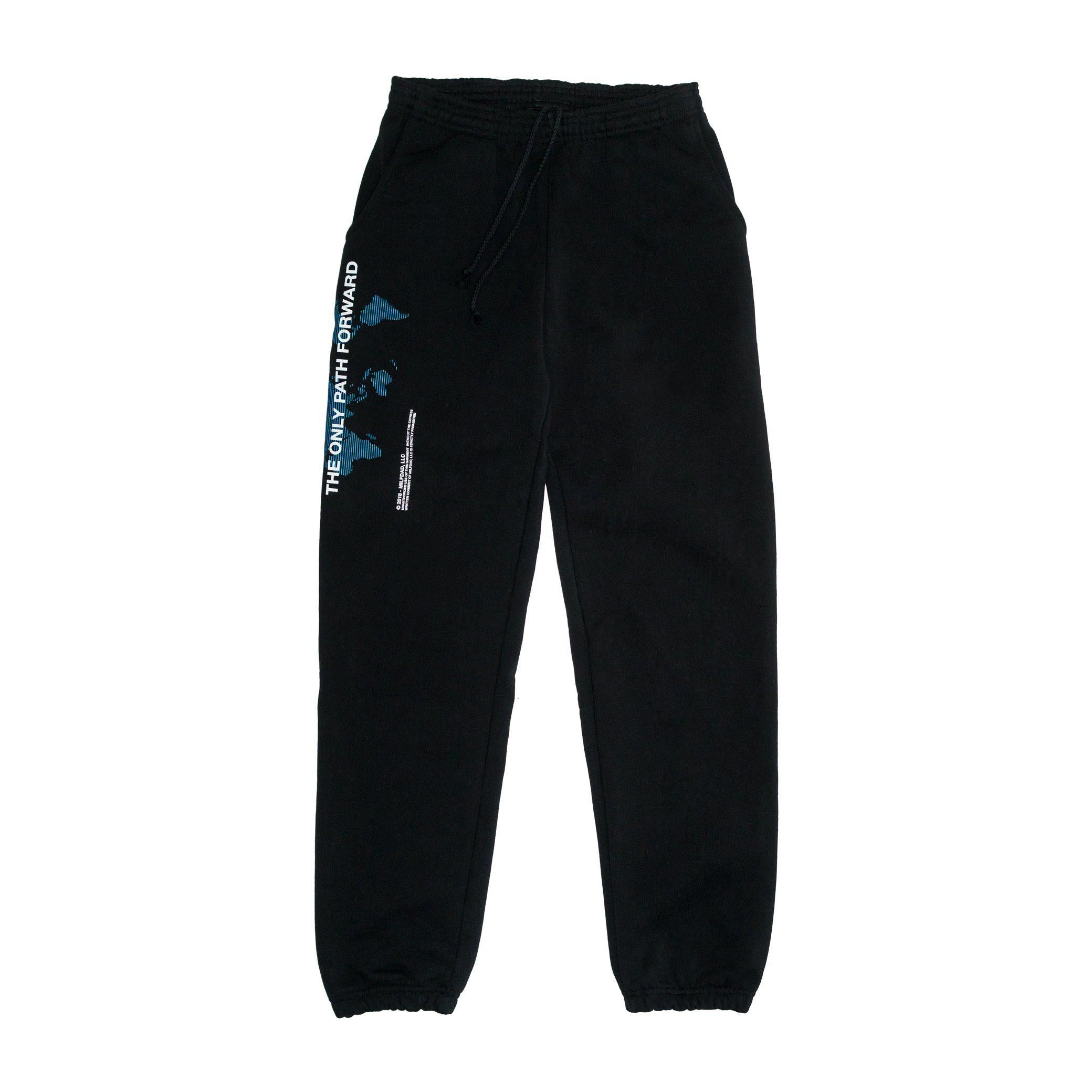 ONLY PATH SWEATPANT - BLACK-MILFDAD