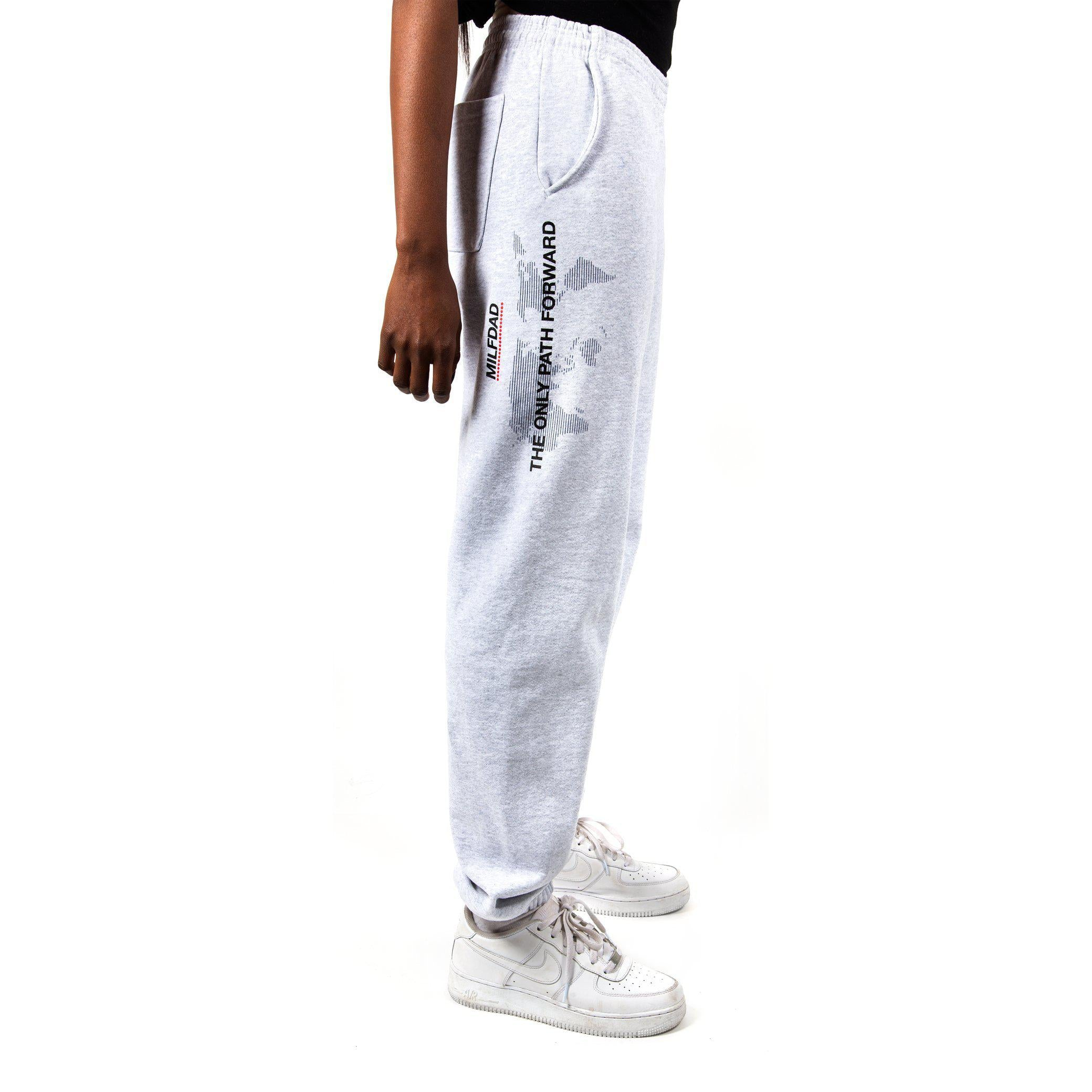 ONLY PATH SWEATPANT - GREY-MILFDAD