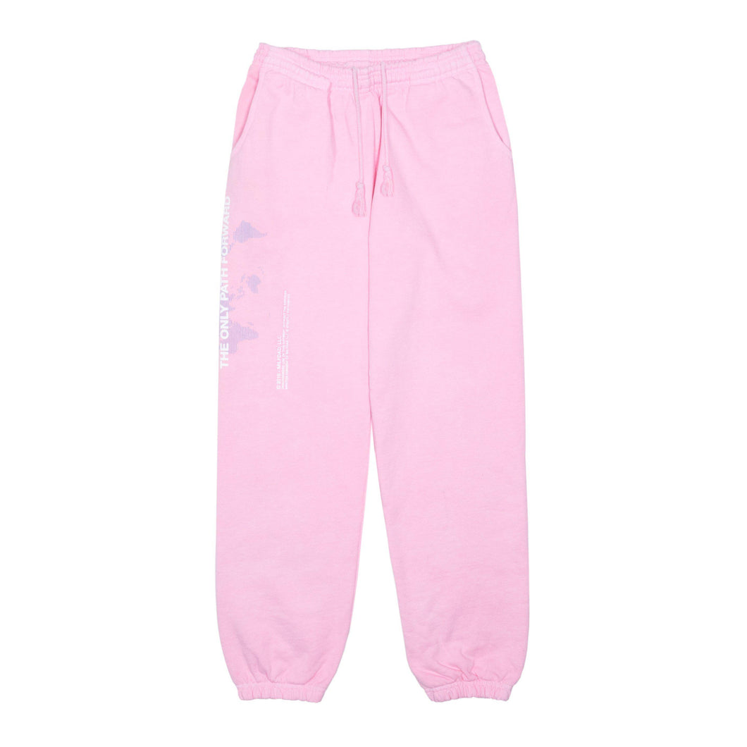 ONLY PATH SWEATPANT - PINK-MILFDAD