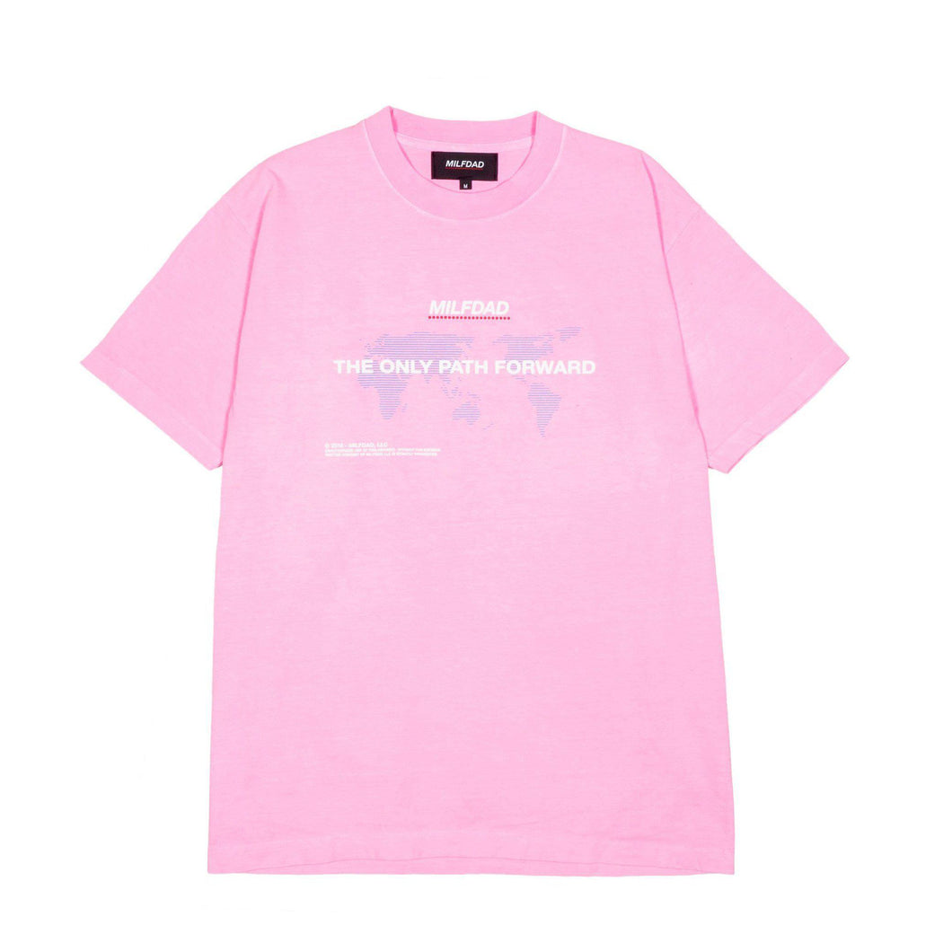 ONLY PATH TEE - PINK-MILFDAD