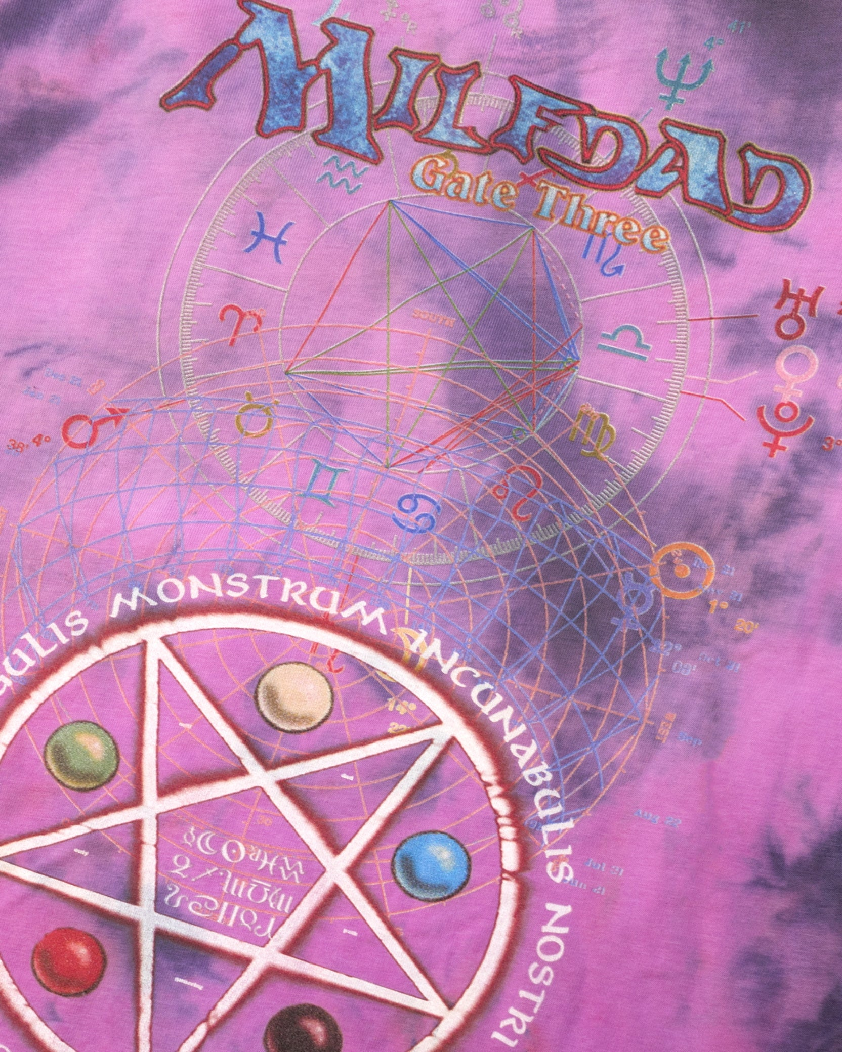 GATE THREE TEE - AMETHYST