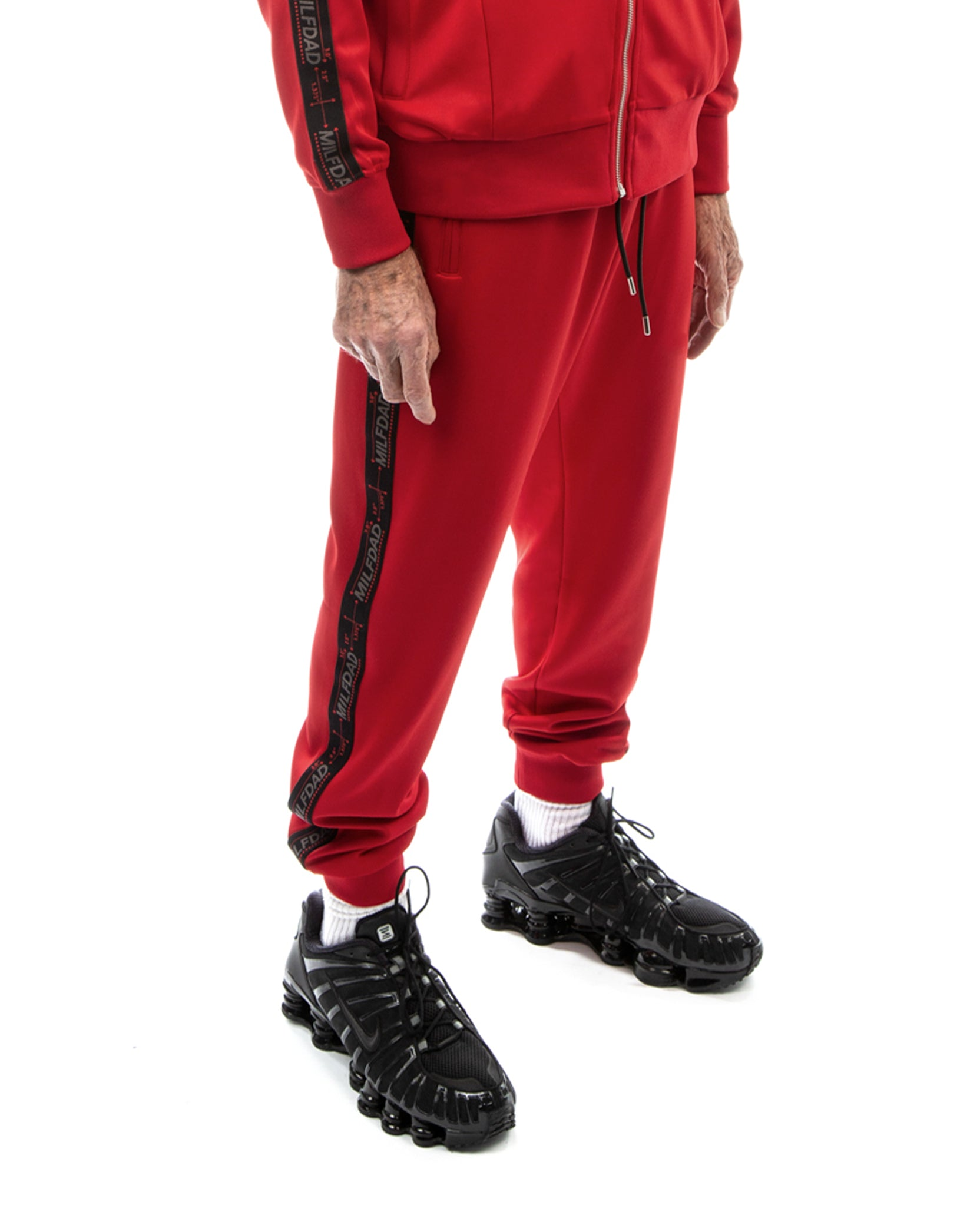 TRACK PANT - RED