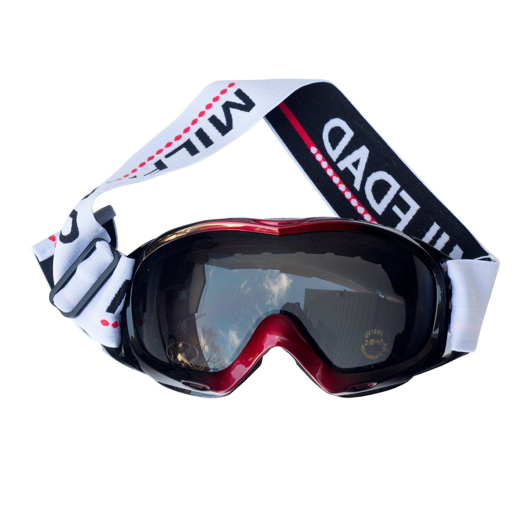 REFLECTIVE GOGGLES - RED/BLACK-MILFDAD