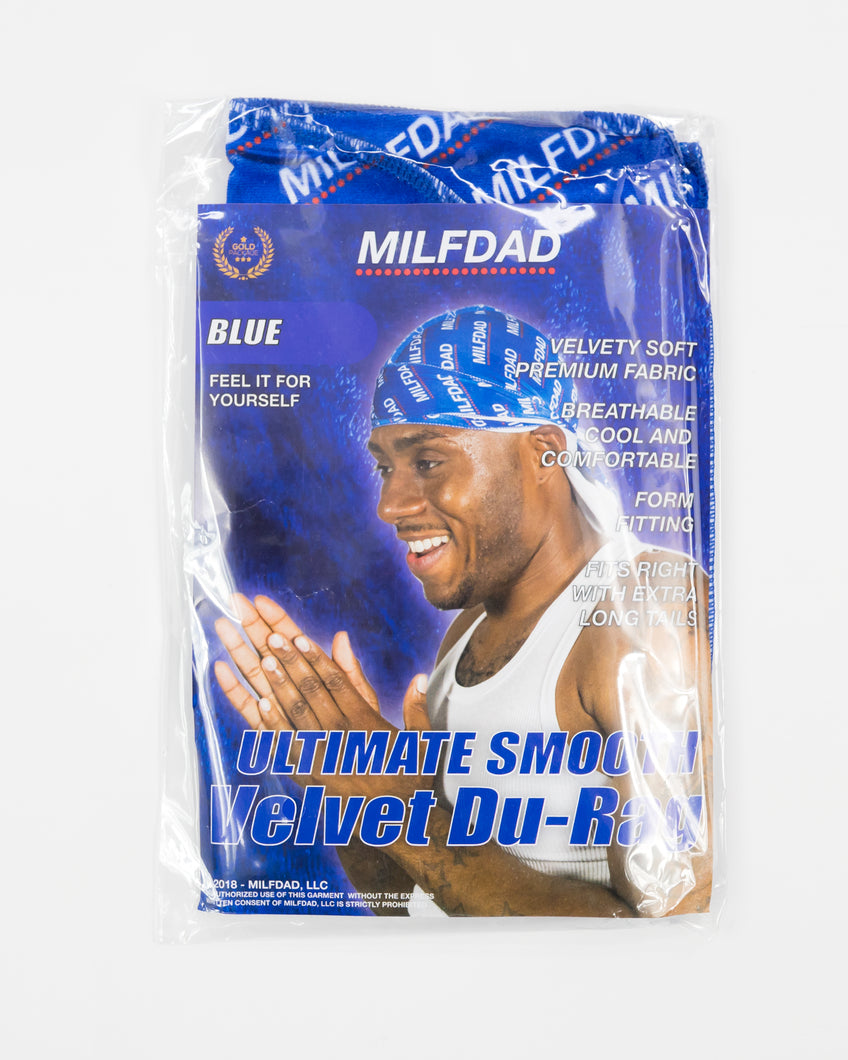 SILKY DURAG - ROYAL BLUE