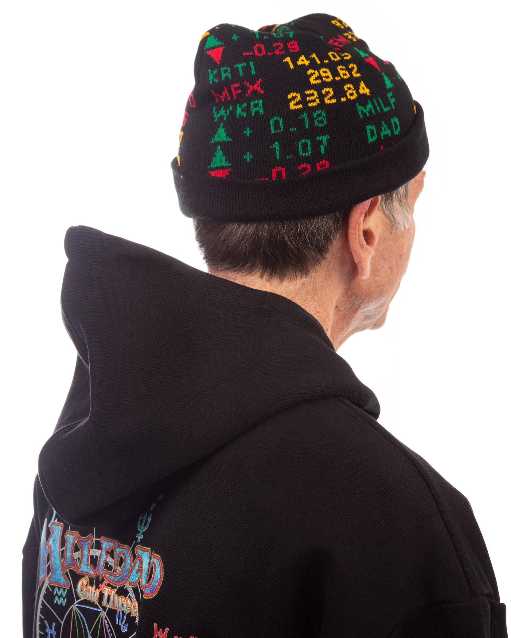 STOCK TICKER BEANIE