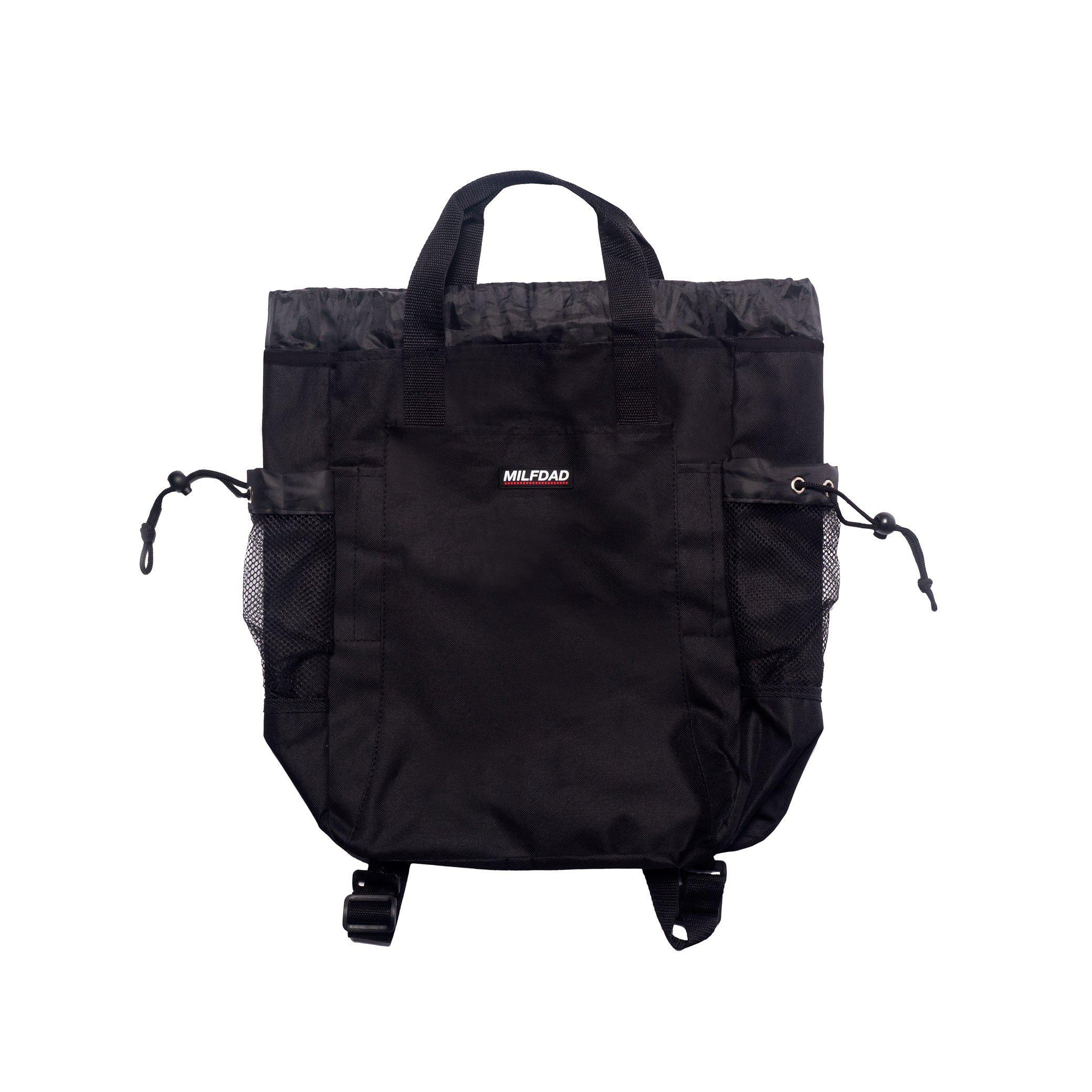 TECHNICAL TOTE - BLACK-MILFDAD
