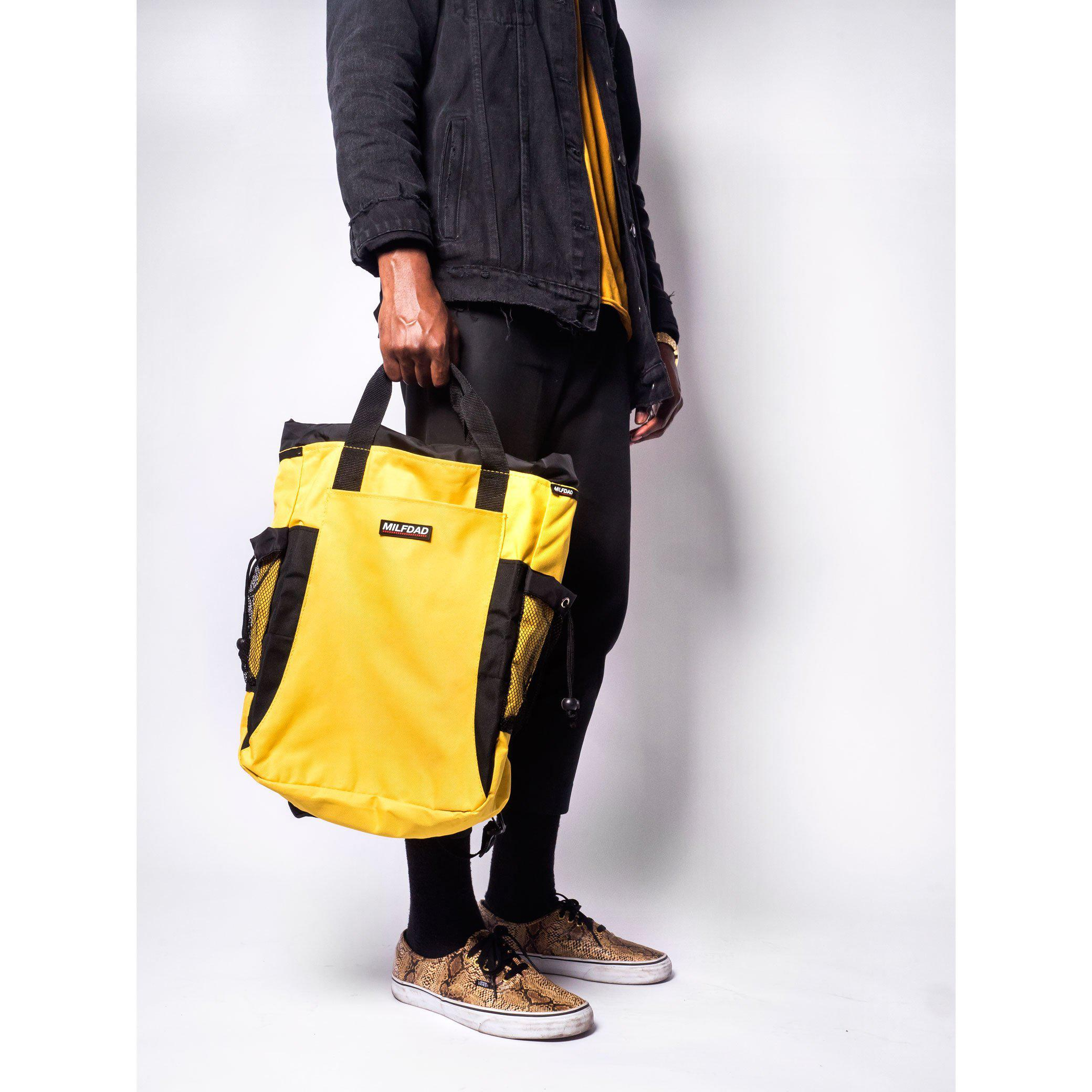 TECHNICAL TOTE - YELLOW-MILFDAD