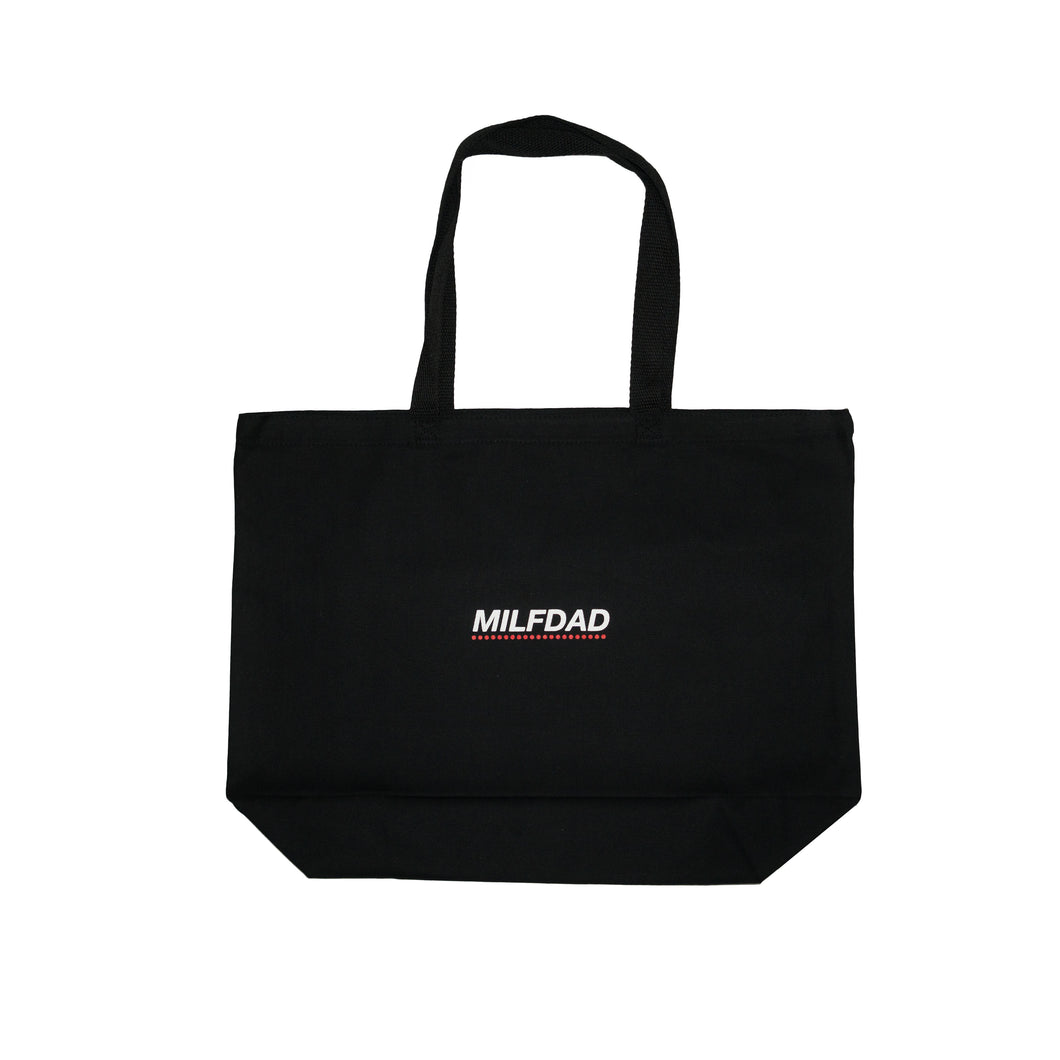 LOGO CANVAS SHOPPER TOTE