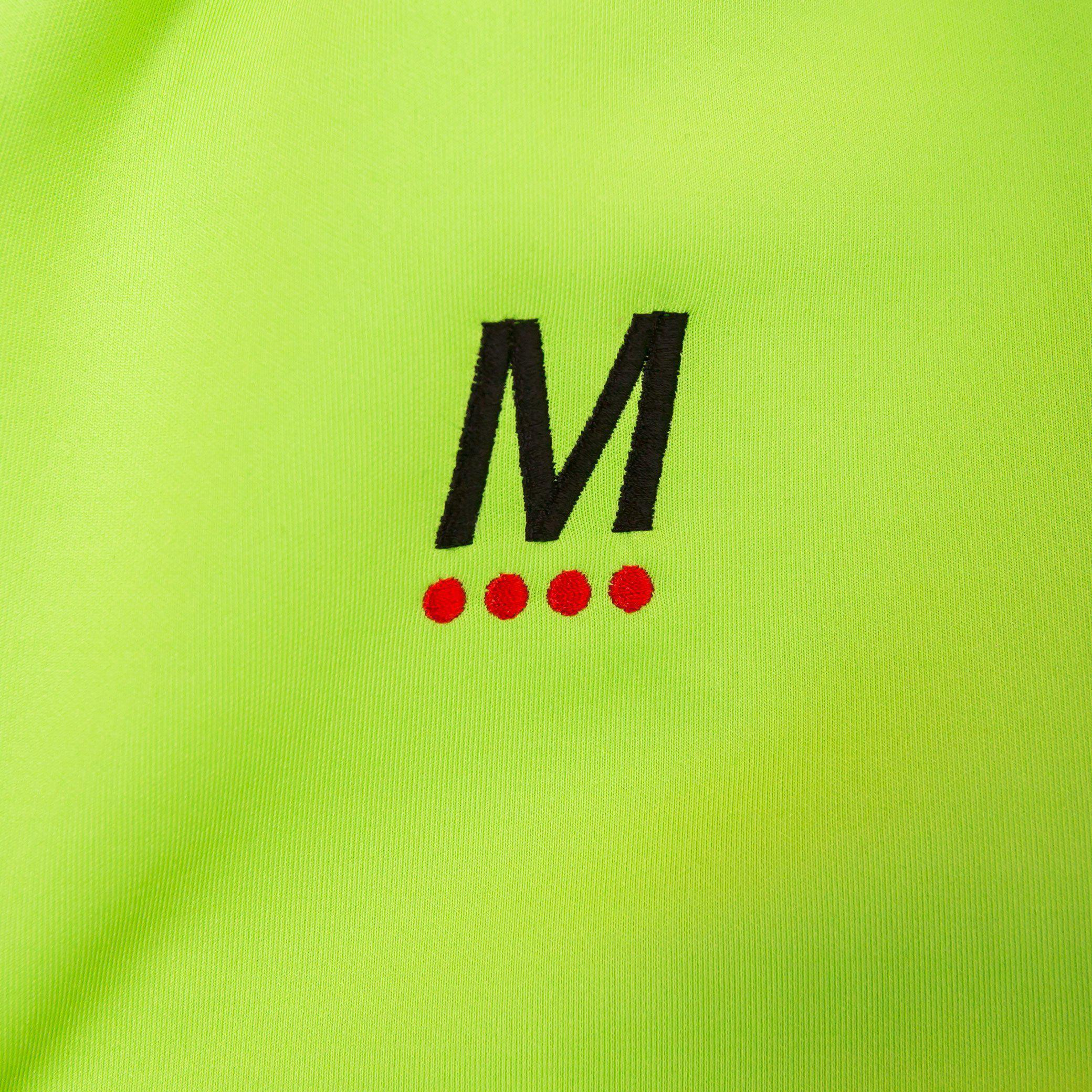 TRACK JACKET - LIME GREEN