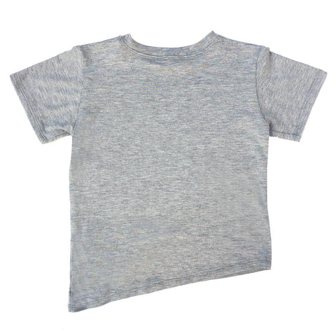 Asymmetric Tee - Grey