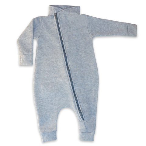 Maverick Romper - Heather Grey