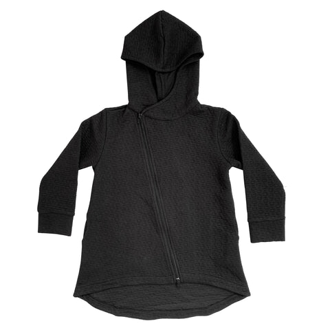 Hi-Lo Quilted Hoodie - Youth