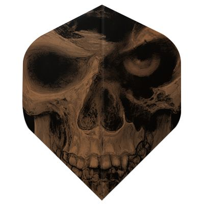 Dart World Alchemy Copper Flights - Poleaxed Skull Standard