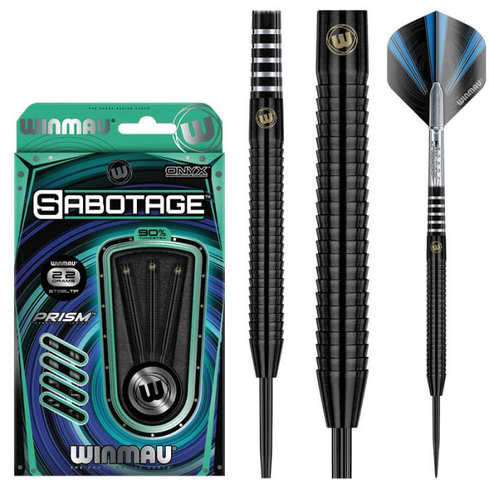 Winmau Sabotage Black 22gm