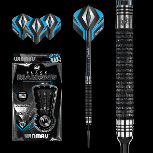 Winmau Black Diamond 1741 18gm
