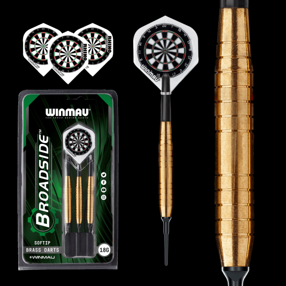 Winmau Broadside Brass 18gm