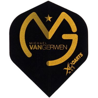 Shot! Michael Van Gerwen Black/Gold Flight