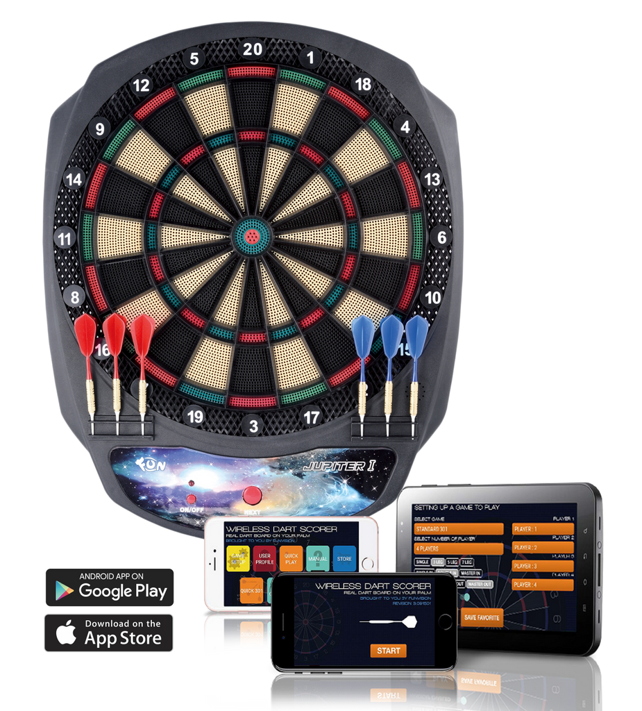 Wireless APP Dartboard JUPITER ONE