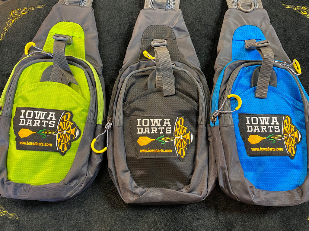 Colorful Logo Sling Bags