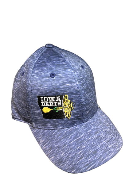 Iowa Darts Memory Fit Hat - Energy