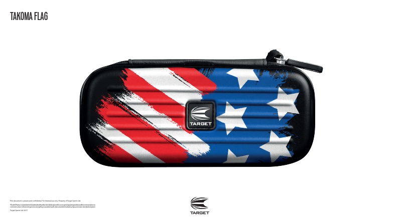 Takoma Flag  Dart Case