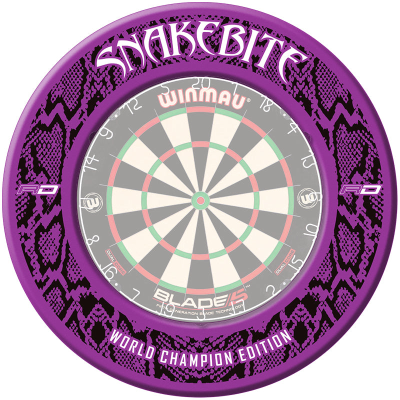 Snakebite World Champion Edition Dartboard Surround