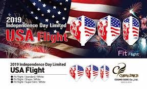 Cosmo Fit Flight Independence Edition USA Flight