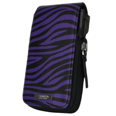 Cameo Garment 2.5 Purple Zebra Dart Case